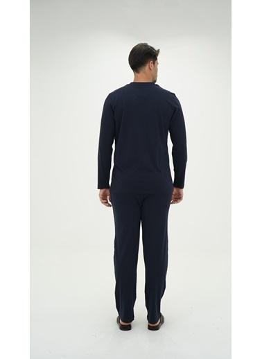 D'S Damat Pijama Takım Mavi